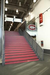 Complexe sportif Bell-Hall d'entrée