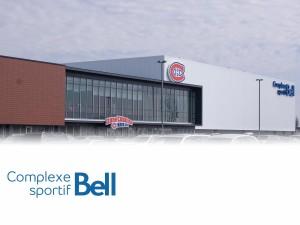 Complexe sportif Bell-façade dégradée