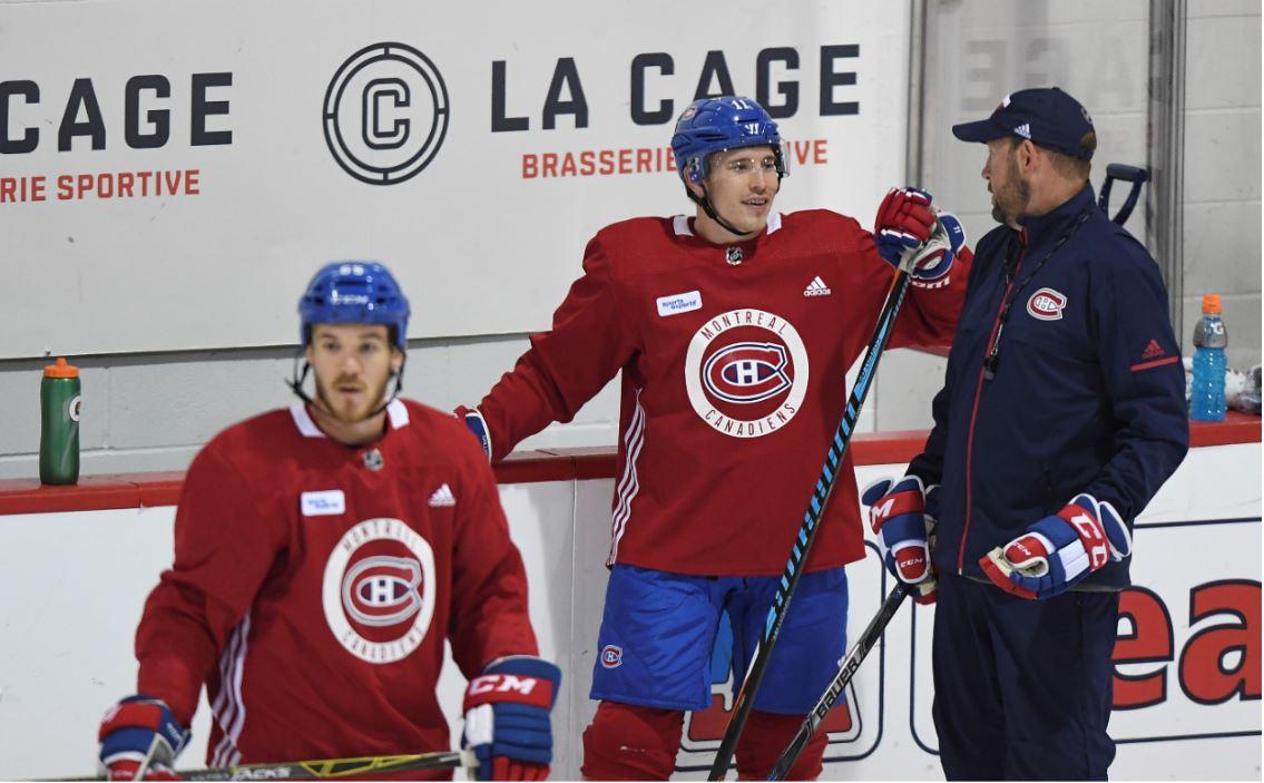 Entrainement Des Canadiens De Montreal Tous Les Entrainements Sont Sujets A Annulation Sans Preavis Complexe Sportif Bell